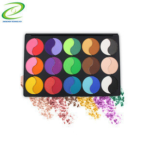 Uonofo Make Up High Pigmented Loose Double Split Glitter Loose 30 Colors Eyeshadow Palette