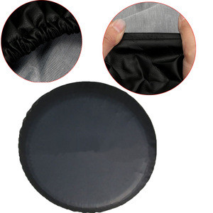 Waterproof Spare Tire Cover RV Protection Car Vehicle Wheel Protector Universal Soft PVC Black Spare Tyre Covers for Toyota
