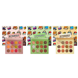 Wholesale 12 Color Square Palette Glazed  Disc Waterproof Long Lasting Makeup Beauty Cosmetic Eye Shadow