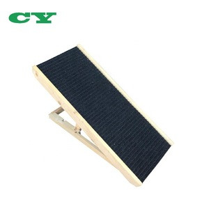 Wooden  Portable Pet Dog Ramp With Adjustable Heights