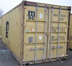 20 and 40 ft Used Storage Containers - Sea Cans
