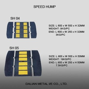 2016 Road Safety Rubber Speed Hump