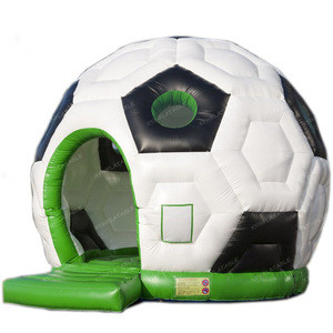 2020 Hot sale football inflatable bouncer, soccer inflatable bouncer, bounce house inflatable for kids