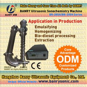 2500L Industrial ultrasound ultrasonic biodiesel reactor machine