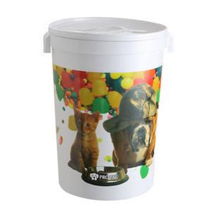 4kg/5kg/7.5kg/15kg/20kg/Plastic Pet Food Bucket/Pail/Barrels large plastic barrels