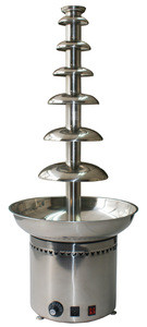 7 tiers large commercial chocolate fountain