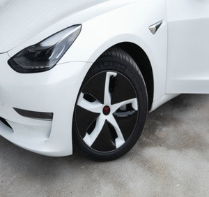 ABS material Tesla model 3 outside big car  wheel cap wheel hub caps