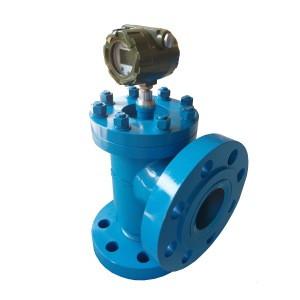 Acid-alkali-salt liquid and other highly corrosive liquid flowmeter intelligent magnetoelectric flowmeter