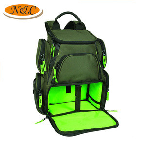 best seller outdoor sport fishing tackle bag multi-purpose fishing backpack,professional hight quality fishing bag