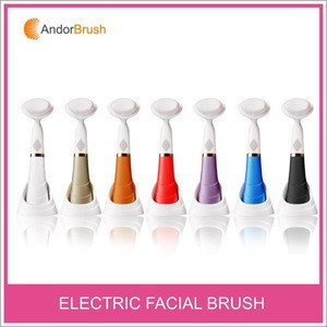 Andor new arrival Korean cleaning sonic facial brush luxury makeup brush new style cosmetic brush
