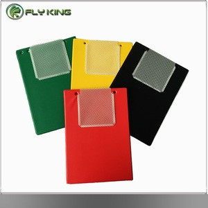 Assorted Colors PVC Clipboard with Low Profile Clip