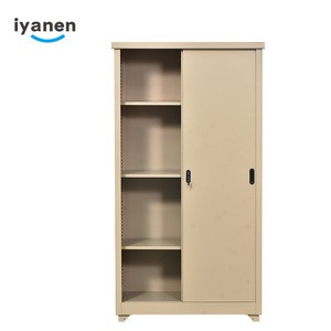 Bedroom Furniture 2 Door Metal Almirah Locker Wardrobe