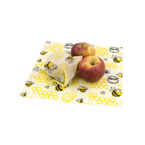 Beeswax Food Wrap Organic Eco-Friendly Reusable Bees Wax Wraps Sustainable and Biodegradable Beeswax Wrap