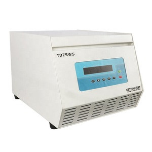 CE ISO approved KETHINK TDZ5WS tabletop low speed 5000rpm self balance lab centrifuge with 12/18 buckets