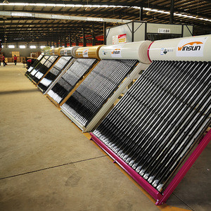 China factory best selling swimming pool solar water heater for hotel using