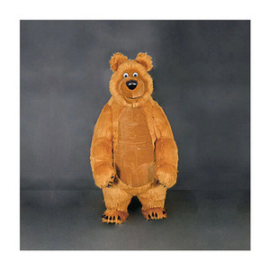 China Factory Funny Cartoon Adult Mascot Hot Furry Animal Bear Costume