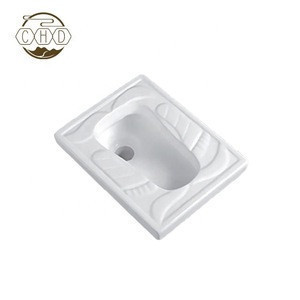 China Manufacturer Ceramic Small Size Squatting Pan For Kids