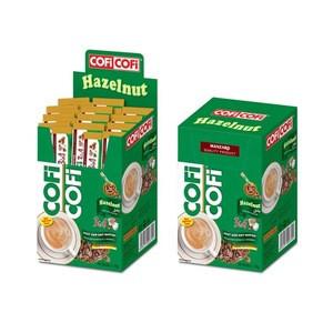 COFI COFI 3 in 1 Hazelnut Instant Coffee Mix 20 Sticks x 18g