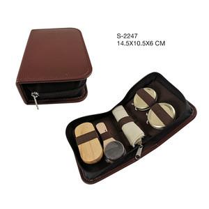 Custom Design Men's Professional Shoe Care kit/Shoe Shine Kit Box/Shoe Polish set