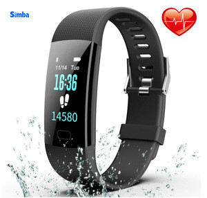 Fitness Tracker, Colorful Activity Tracker Smart Watch With Heart Rate Monitor, Pedometer Waterproof Sleep Monitor Step Counter