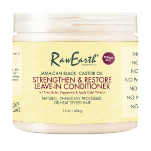 Gently cleanses and strengthens hair Amino acid moisturizing Castor Seed Oil Shea Butter Leave-In Conditioner