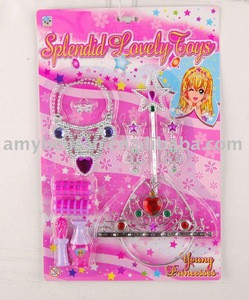 Girls accessories, doll ornaments, beauty toys