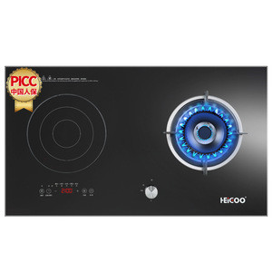 HEIGOO induction cooker and gas cooker
