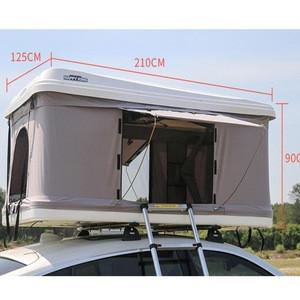 Hot Sale Waterproof camping hard shell car roof tent box