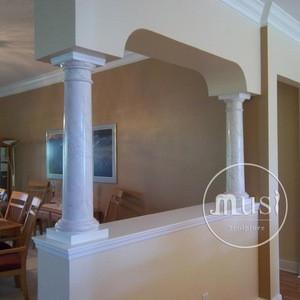 Hot Sell Decorative High Quality Marble Column Granite Pillar