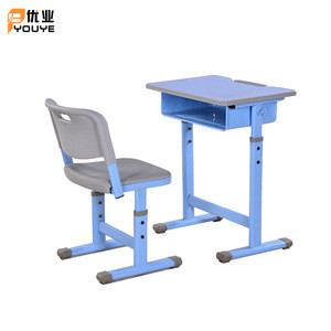 Hot Selling Height Adjustable School Set /school student desk and chair