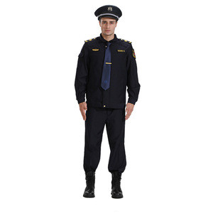 Hotel security guard uniform color for sale work wear guard uniform