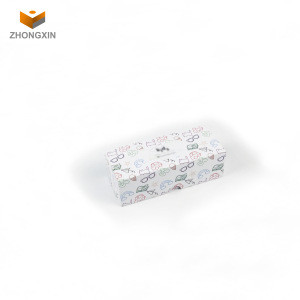 Kids eyeglass paper box with bag Guangzhou packing paper box stock