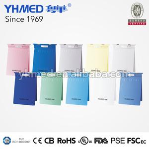 Manufacturer plastic customized hospital doctor medical clipboard