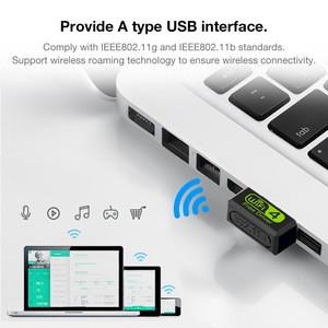 Mini 150M Driver Free Version Built-in Wireless Network Card Desktop Laptop USB PC WiFi Signal Receiver Adapter