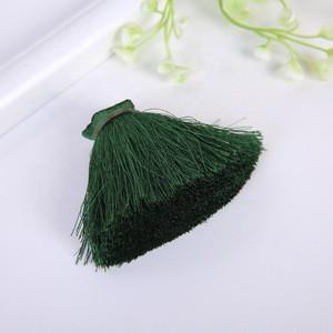 Mini Tassel Fringe Pendant DIY Material Party Cords Tassel Trim Garments Curtains Decor