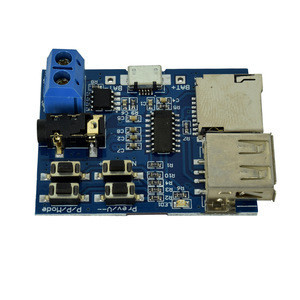 Mp3 Lossless Decoding Board  Amplifier  MP3 Module MP3 Decoder  TF Card U Disk Decoding Player 2W Onboard Amplifier