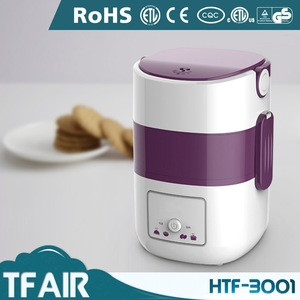 New Innovation Product TFAIR Kitchen Appliance HTF-3001 Double Layers Multi Purpose Purple Electric Rice Cooker