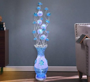 Nodic modern Aluminium Wire Floor Lamps Living Loom Standing LED Lamp