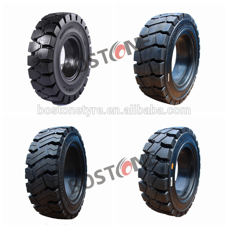 Non marking tyres 4.00-8 6.00-9 6.50-10 7.00-12 28x9-15 8.25-15 15x4 1/2-8 solid forklift truck tires