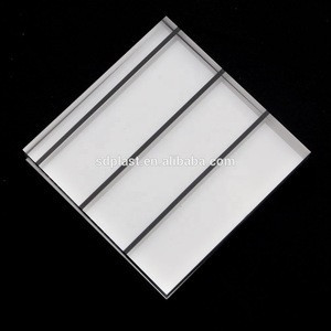 PMMA transparent acrylic sheet perspex plate sound noise barrier