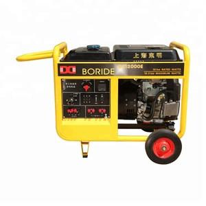 Portable Gasoline Power Generator 10KW Emergency Electric 4-Stroke for Garden & Outdoor