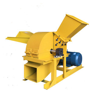 Powerful diesel /electric coconut husk chip crusher, branches, bamboo crusher for sale with video