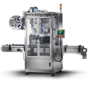 Single Head Label Sleeving Machine Heat Shrink Sleeve Labeling Machine / label machine with steamer/ label bottle machine