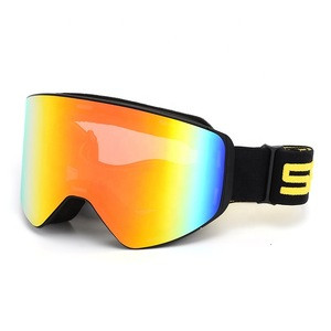 SPOSUNE Top sell  Magnetic ski Goggles  Snowboard Men Women Youth easy change lens  Snow goggles snowmobile