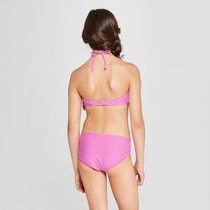 Wholesalenew girls cutout bikini kids halter swimsuits