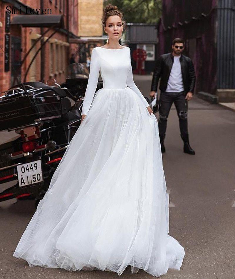 Smileven Bohemian Wedding Dress Long Sleeves Turkey Style Beach Bridal Dress Wedding Gowns Vestido De Noiva Smileven Bohemian Wedding Dress Long Sleeves Turkey Style Beach Bridal Dress Wedding Gowns Vestido De