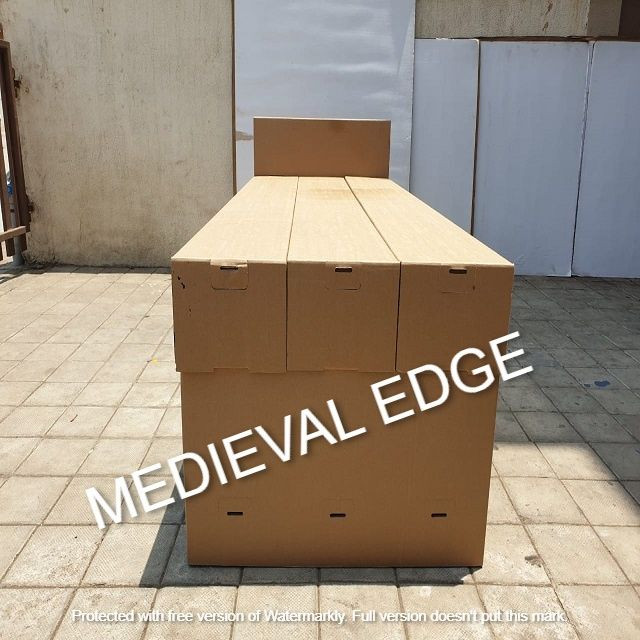 Corrugated Disposable Isolation Bed