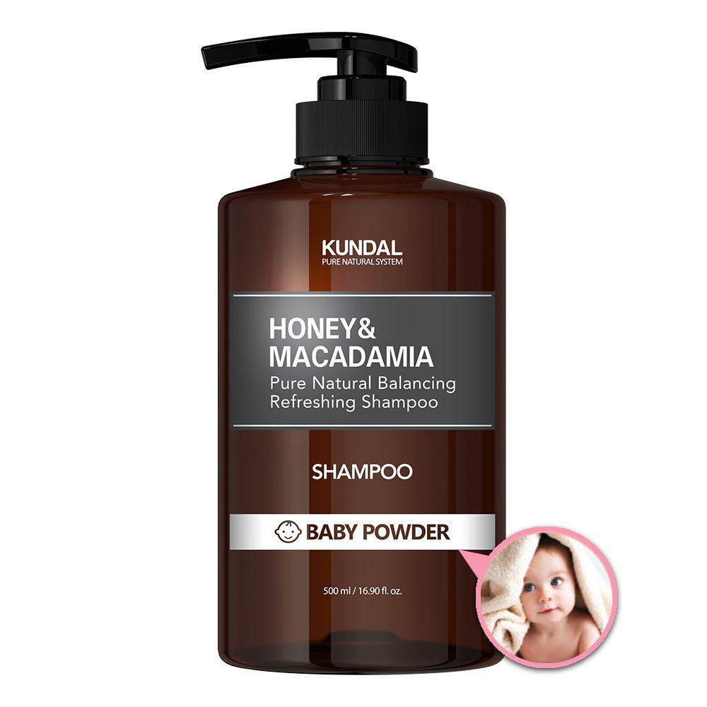 KUNDAL Nature Shampoo 500ml Baby Powder