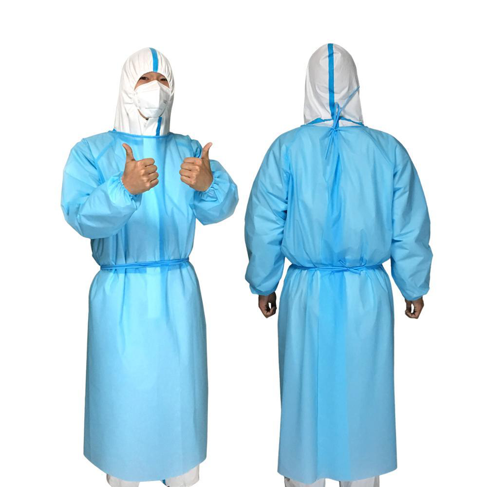Disposable Isolation gown (no medical) Isolation clothing
