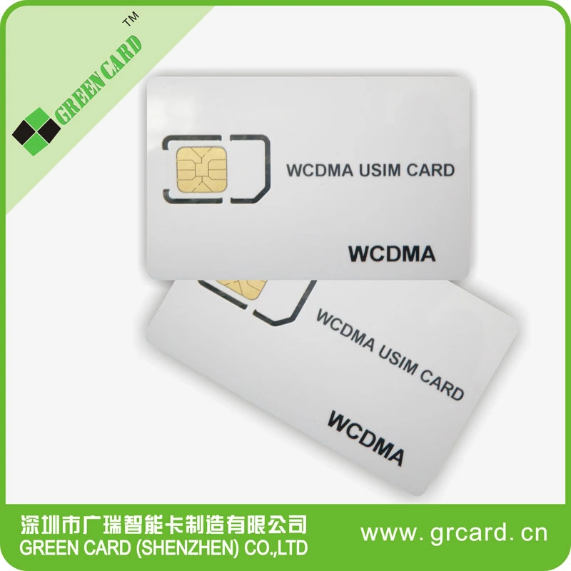4G LTE Micro WCDMA 3G CMU200 Mobile Phone Test SIM Card